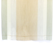 Load image into Gallery viewer, WIDE STRIPE BROWN CASHMERE SHAWL 1