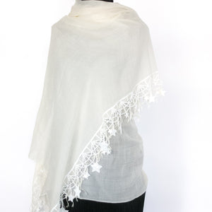 ESPOUSAL STAR WOOL SHAWL 2