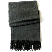 Load image into Gallery viewer, NIGHTSKY BLACK CASHMERE SHAWL