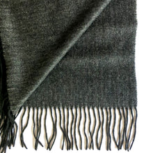 Load image into Gallery viewer, NIGHTSKY BLACK CASHMERE SHAWL 3