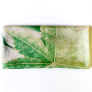LFNATURE LIGHT GREEN CASHMERE NECK SCARF