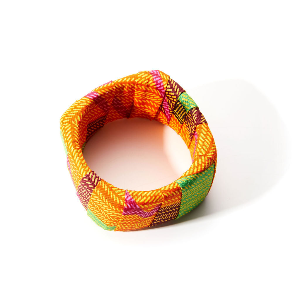 Chunky New Kente Bracelet