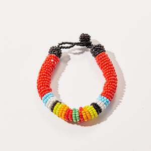 Red Multicolored Bracelet