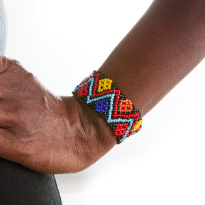 Beaded Massai Stretch Bracelets