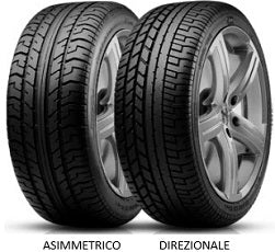PIRELLI PZERO SYSTEM (ASIMMETRICO/DIREZIONALE) - 255/40ZR18 95Y - TireDirect.ca - Shop Discounted Tires and Wheels Online in Canada