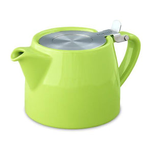 Functional and stylish Ceramic Teapot with Loose Tea Infuser basket