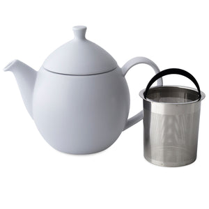 Oval Teapot with Infuser - 32 Ounces