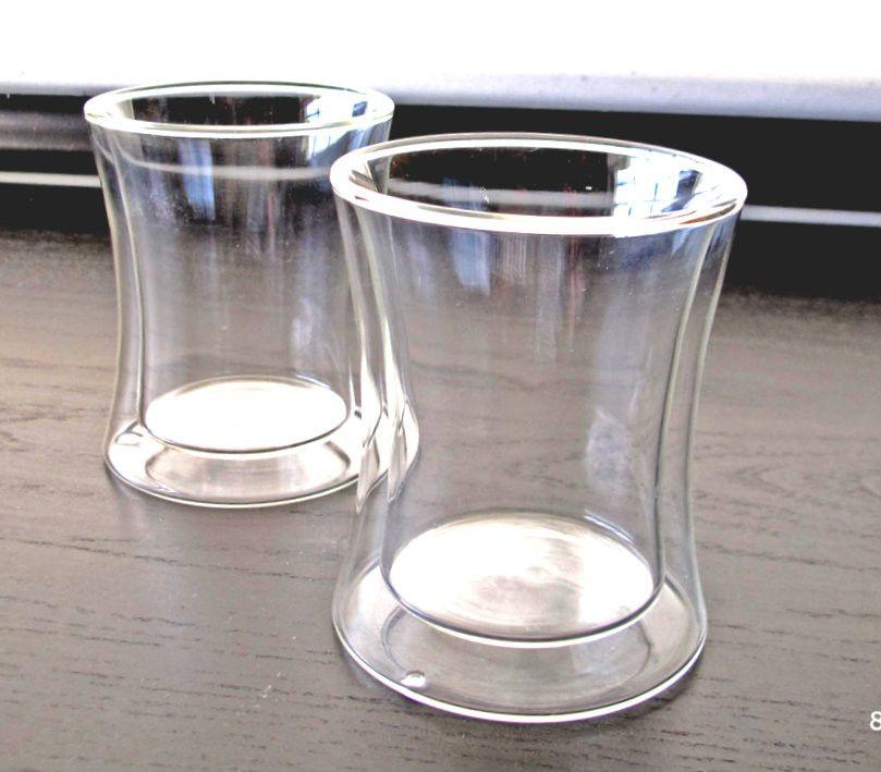 Concave Double walled insulated glasses - 10 ounces
