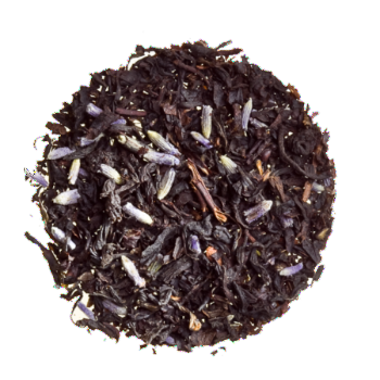 Earl Grey With Lavendar - Organic Loose Black Tea