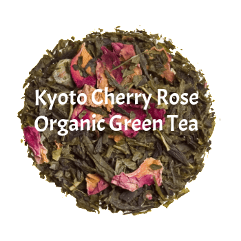 Kyoto Cherry Rose - Loose Green
