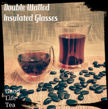 Double walled insulated glasses