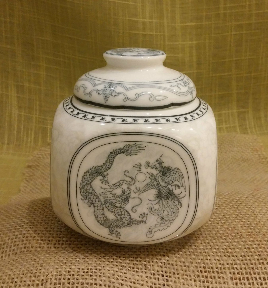 Dragon and Phoenix Tea Canister - Mostly Tea