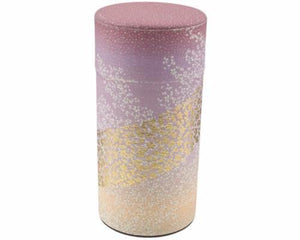 Lilac Japanese Washi Tea Tin