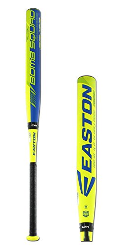 Easton SP16BBA Raw Power Bryson Baker Balanced 2-Piece ASA Slowpitch Softball Bat, 34-Inch/26-Ounce