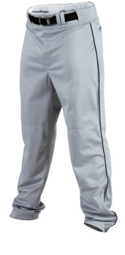 Rawlings Men's Baseball Pant (Blue Grey/Black, XX-Large)