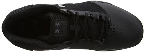 Under Armour Men's Jet 2017 Basketball Shoe, Black/Graphite, 8.5 C US