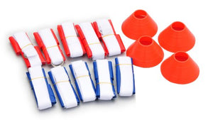 Trademark Innovations Flag Football Premium Set, for 10 Man Team
