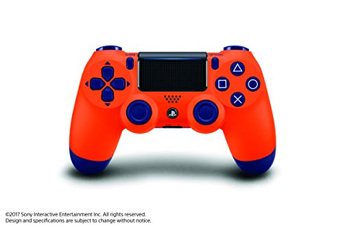 DualShock 4 Wireless Controller - Sunset Orange - PlayStation 4