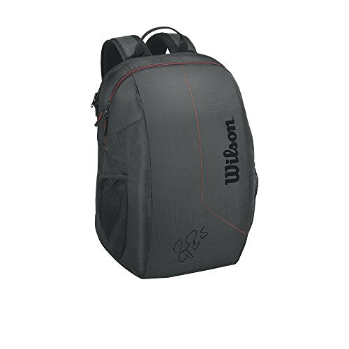 Wilson WRZ833795 Federer Team Tennis Backpack Black/Red