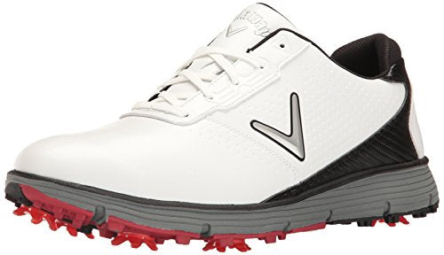 Callaway Men's Balboa TRX Golf Shoe White/Black 14 W US
