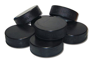 A&R Sports Ice Hockey Puck (Pack of 6)