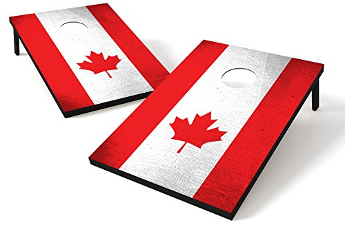 Wild Sports 2' X 3' Mdf Wood Canada Cornhole Board