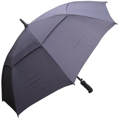 RainStoppers W016B Auto Open Windbuster Sport Umbrella, 48-Inch (Black)
