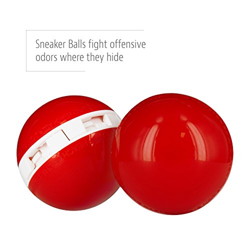 Sof Sole Sneaker Balls Shoe Deodorizers, Basketball, 2 Pack