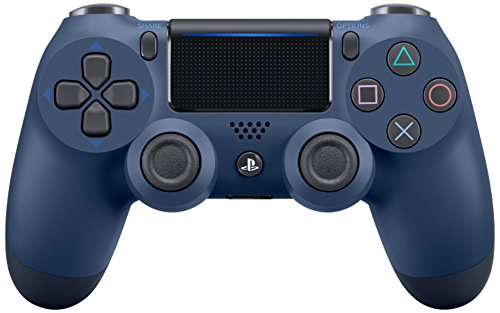 DualShock 4 Midnight Blue Controller - PlayStation 4 Midnight Blue Edition