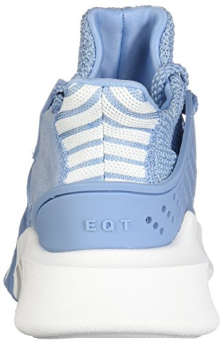 adidas Originals Women's EQT Basketball ADV Shoes, Ash Blue/Ash Blue/Footwear White, 9 M US