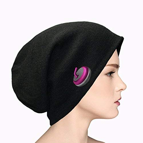Sport Curling Stone Gear 4 Embroidery Cotton Acrylic Slouch Beanie, One Size