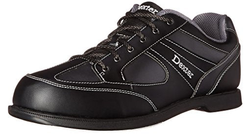 Dexter Pro Am II Bowling Shoes, Black/Grey Alloy, 9