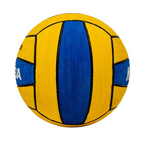 Mikasa W5009BLU Competition Game Ball, Blue/Yellow, Size 4