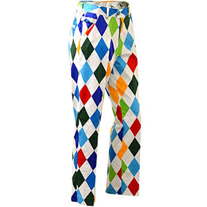 Royal & Awesome King of Diamond Bright Mens Golf Pants