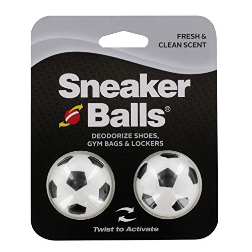 Sof Sole Sneaker Balls Shoe Deodorizers, Soccer, 2 Pack