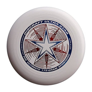 Discraft 175 gram Ultra Star Sport Disc, White