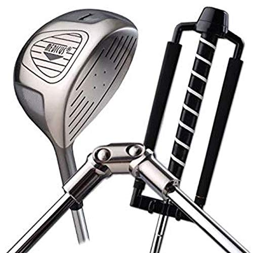 Medicus Golf Club Swing Trainer Aids - Dual Hinge Driver with Dual Hinge Putter - Swing Correcting Training Package