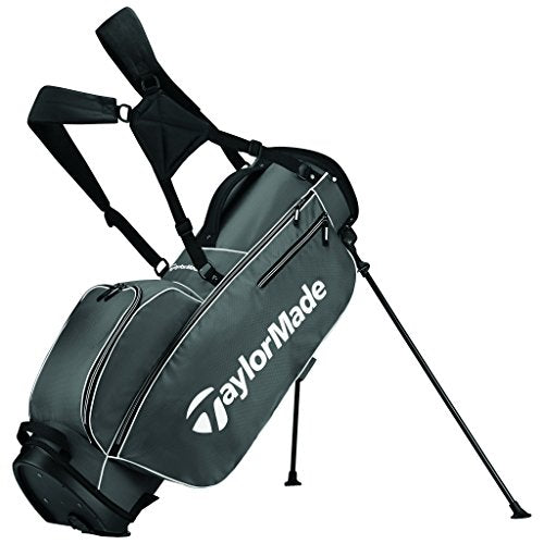 TaylorMade 2017 TM 5.0 Stand Golf Bag, Grey/White