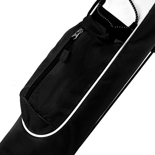 Orlimar K99545 Pitch and Putt Golf Lightweight Stand Carry Bag, Black