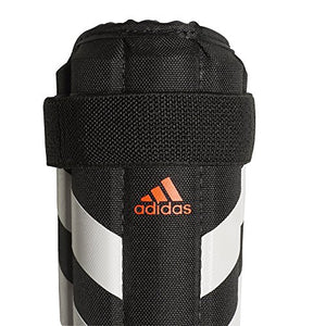 adidas Unisex Evertomic Lite Shin Guards, Black/White/Solar Red, S