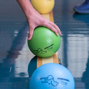 Champion Sports Rhino Skin Basic Dodgeball Set, 6""