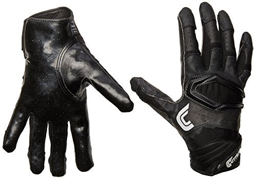 Cutters Gloves S451 Rev Pro 2.0 Receiver Football Gloves with Sticky C-Tack Grip