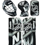 Franklin Sports NHL Mini Hockey Goalie Equipment with Mask Set, Colors May Vary