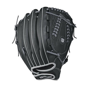 "Wilson A360 Slowpitch Glove, 13"", Black/Grey, Left Hand"