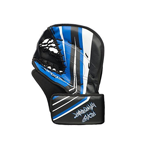 Road Warrior Cobalt Street Hockey Goalie Catch Glove, Regular