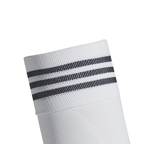 adidas Unisex adisock 18 Team Socks, White/Black, L