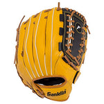Franklin Sports Field Master Series Baseball Gloves, 12-Inch, Right Hand Throw