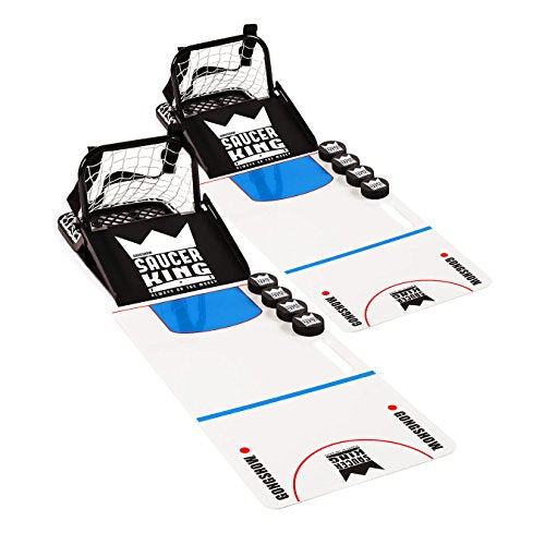 GONGSHOW Saucer King Backyard Hockey Game Training Set