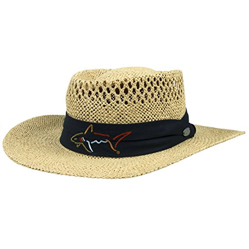 Greg Norman Straw Hat, Natural