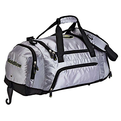 Curling Duffle Bag with Broom Holster